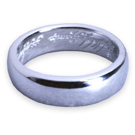 The Lord of the rings Hobbit: an unexpected adventure The One Ring (the one) silver Gundam load-of-the-ring limited collaboration accessories giveaway