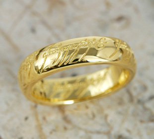 The One Ring (the one) • Gold 24 k gold (K24) • load-of-the-ring limited wrapping accessories