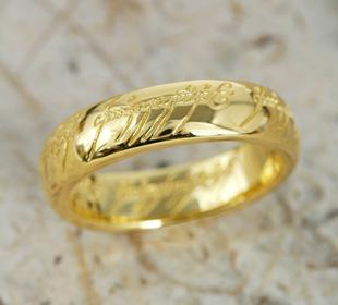 반지의 제왕 호 빗 The One Ring (더 원) 실버 원 반지