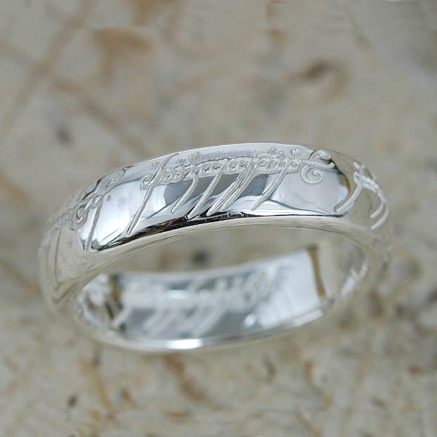 ロードオブザリングホビット思いがけない冒険The One Ring(ザ ワンリング)シルバー リング【指輪】ロード・オブ・ザ・リング グッズ アクセサリー The Lord of the Rings プレゼント ギフト