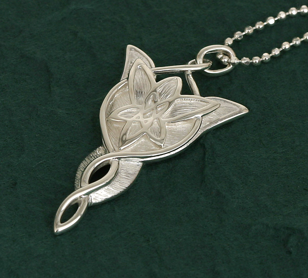 Lord of the Rings SV925 rhodium coating Arwen pendant necklace ◆ character-limited collaboration accessories. It is present giftwrapping 10P21May14 the necklace which is most suitable for a present