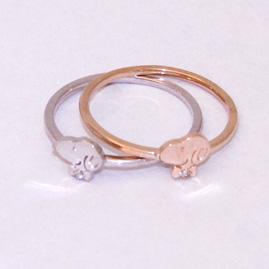 史努比史努比史努比蝴蝶戒指 ネクタイプチ K10 环圣诞环绕 fs3gm