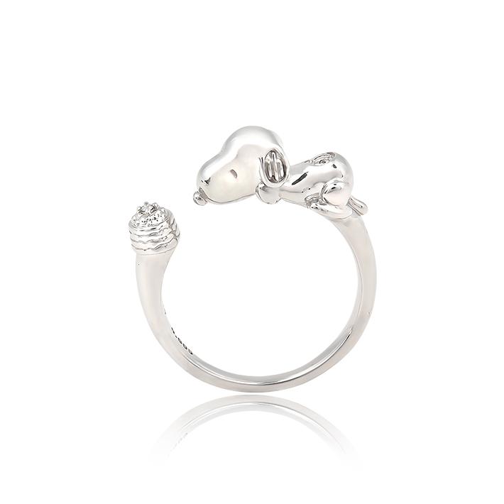 スヌーピー リング 指輪 大人 かわいい グッズ レディースSNOOPY Happiness Ring ジュエリー 誕生日プレゼント プレゼント ギフト ラッピング おすすめ 女性 レディースジュエリー ダイヤ 贈り物 彼女