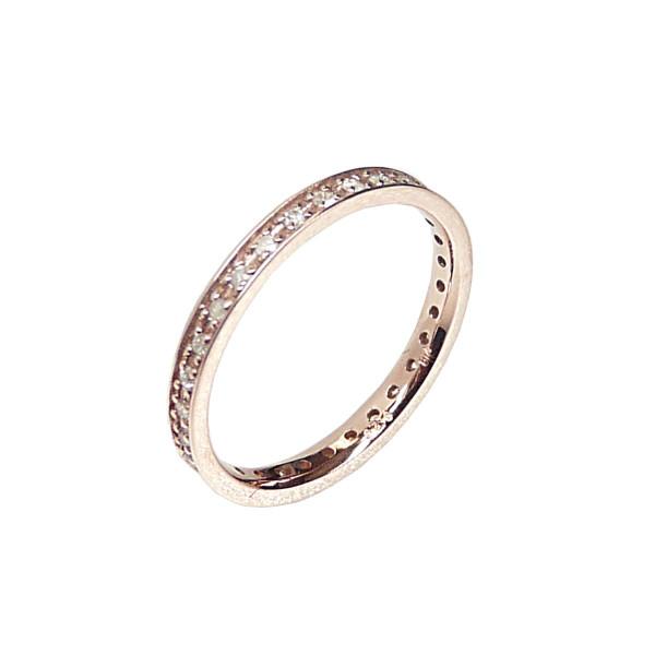 K10PG 10金 ダイヤモンド フルエタニティーリング 期間限定特価品 0.2ct 格安 30石