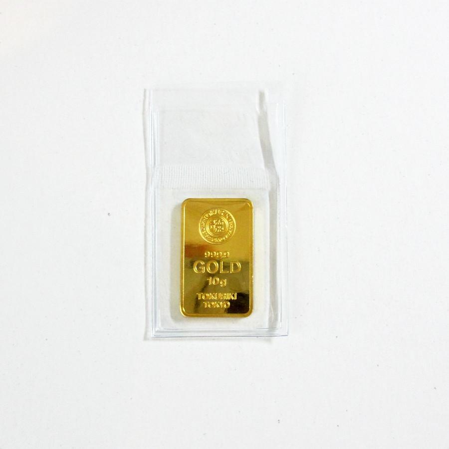 【送料無料】24金 インゴット INGOT [徳力 インゴット 10g] ゴールドバー『金の国際ブランド グッドデリバリー・バー』