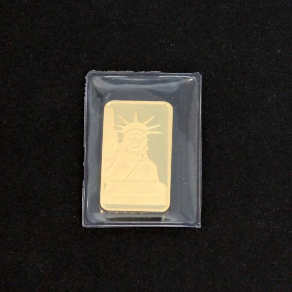 【送料無料】24金 インゴット INGOT [CREDIT_SUISSE インゴット 10g] ゴールドバー『金の国際ブランド グッドデリバリー・バー』リバティーコイン