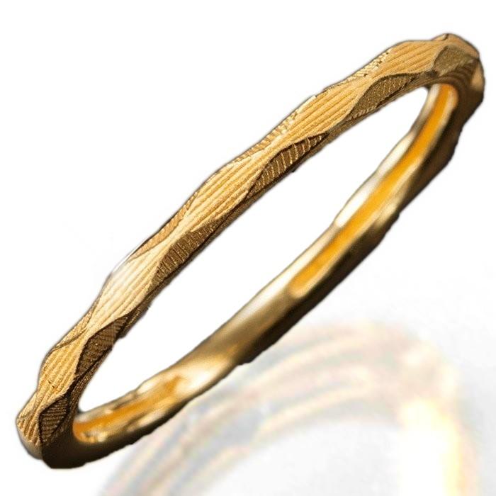 K24 純金 デザインリング品質 爆売りセール開催中 約1.5g 純金リング ダイヤカット Gold 超特価 Pure 様々な光に反射する美しいダイヤカット24金 約1.5g前後 Ring -