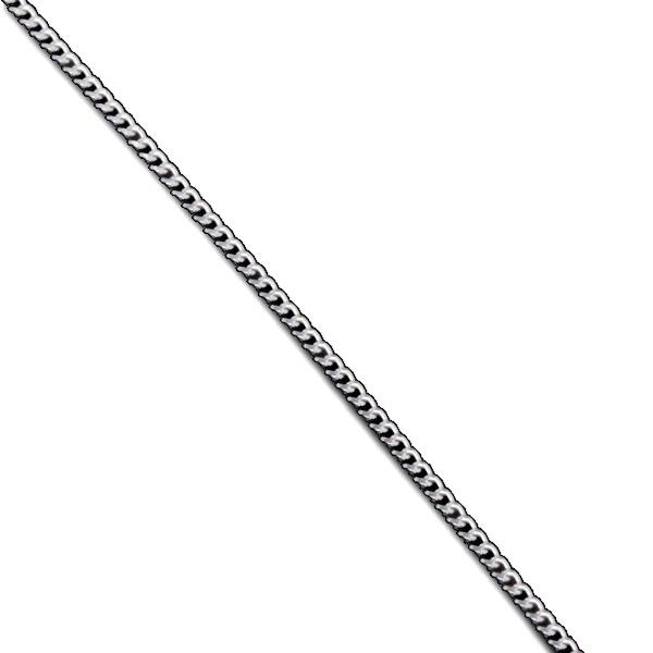 K18WG 喜平チェーン 50cm 2.1g1.0mm