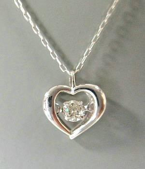K18WG ダイヤモンド0.080ct ネックレス