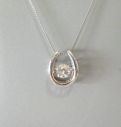 Pt ダイヤモンド0.150ct ネックレス