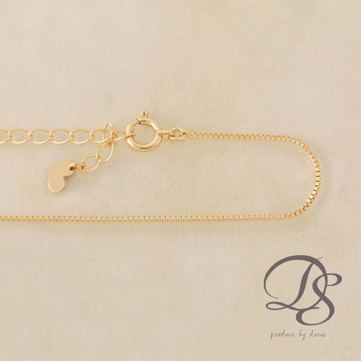 ゴールド ブレスレット レディース k18 18金 【ベネチアンチェーン】 ブレスレット プレゼント DEVAS ディーヴァス