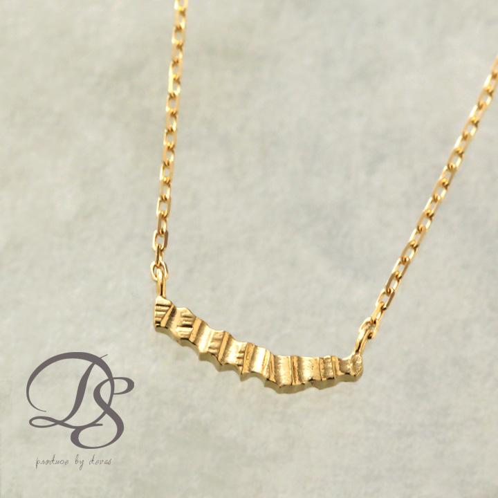 送料無料K18 ゴールド ネックレスクルー ネックレスレディース 18K 18金 プレゼント シンプル エレガント 上品 女性 おしゃれ オシャレ かわいい カワイイ 大人可愛い DEVAS ディーヴァス