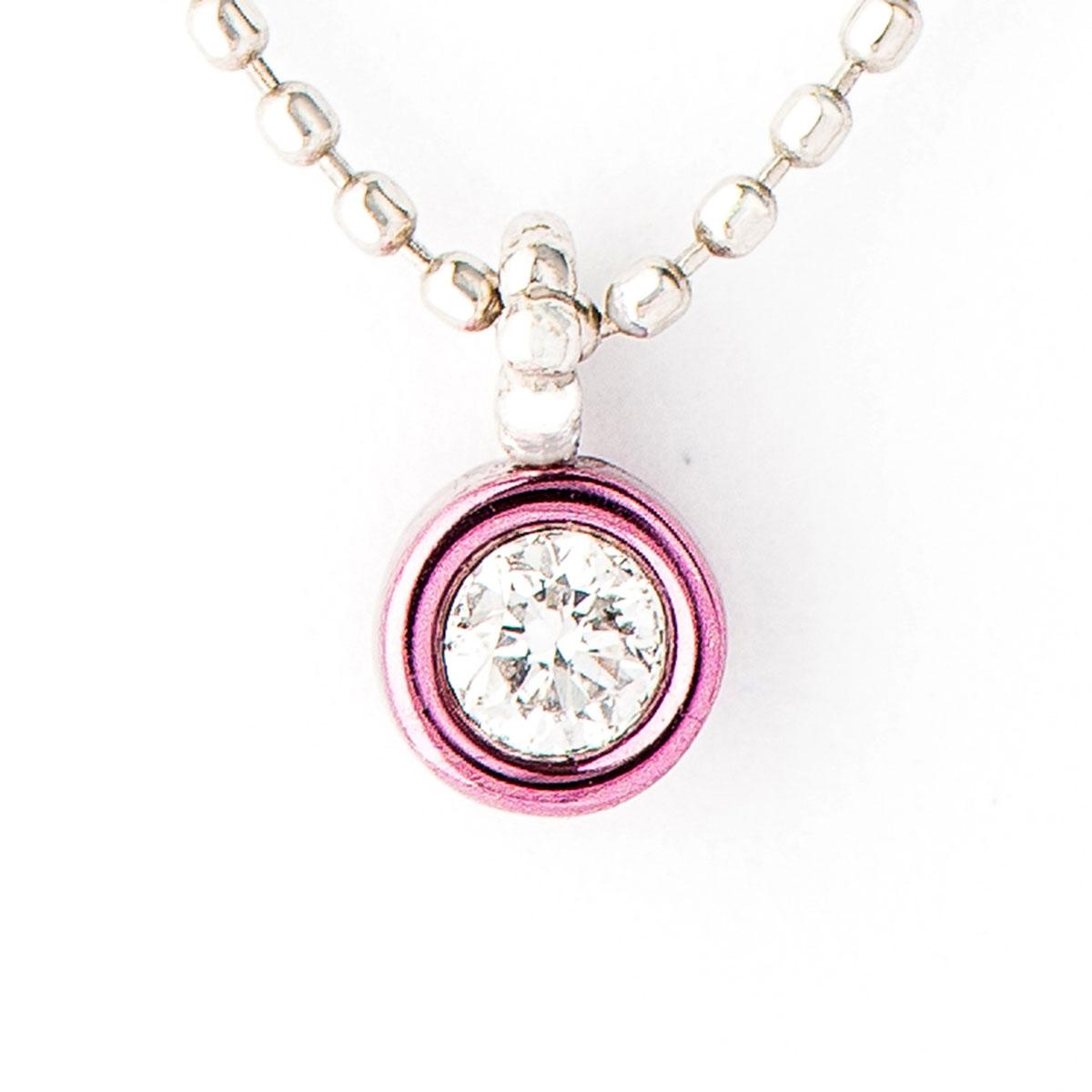 Cierin Cute ダイヤモンド ペンダント ネックレス