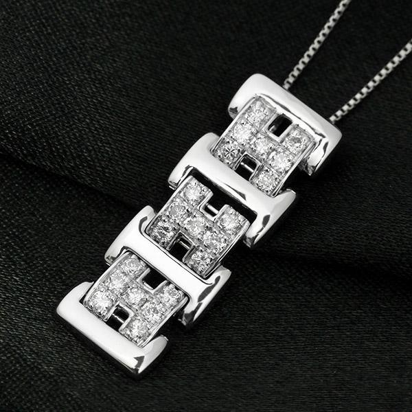ダイヤモンド ネックレス 0.3ct Pt900 プラチナ 鑑別書付 保証書付 インポート 普段使い デイリー ギフト プレゼント 贈り物 地金 たっぷり ボリューム