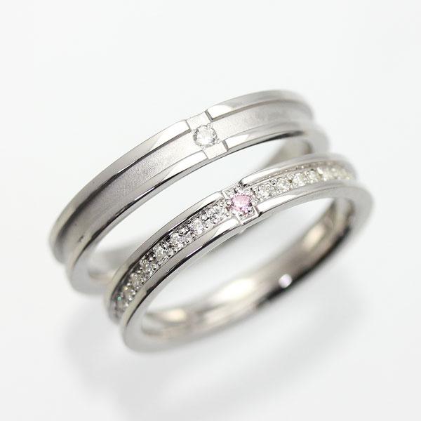 結婚指輪 ペアリング プラチナ PT900(Pt90%) ダイヤモンド フルエタニティ プラチナ クロス マリッジリング サンキュークーポン