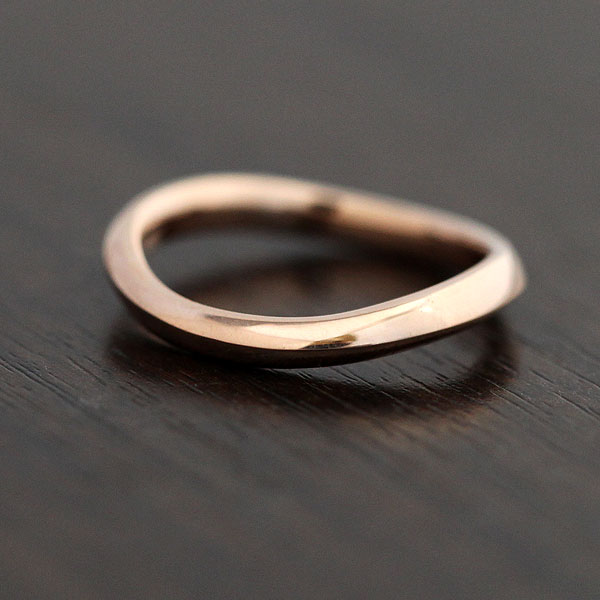 【SALE★30%以上OFF!】 【ポイント優待】 結婚指輪 K18PG シンプルリング マリッジリング ピンクゴールド メンズリング サンキュークーポン