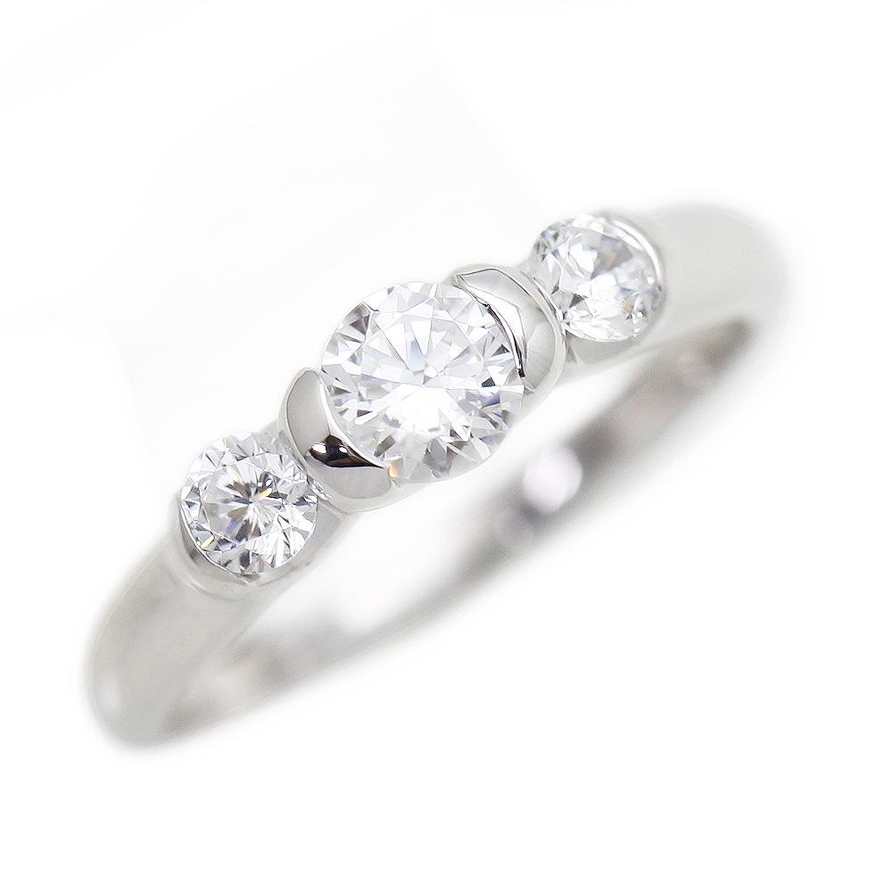 指輪 女性用 PT900(Pt90%) ダイヤモンド 0.59ct プラチナ リング レディースリング サンキュークーポン