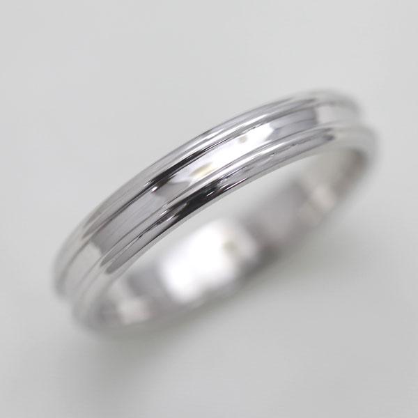 【SALE★30%以上OFF!】 【ポイント優待】 結婚指輪 K18WG シンプルリング マリッジリング レディースリング サンキュークーポン