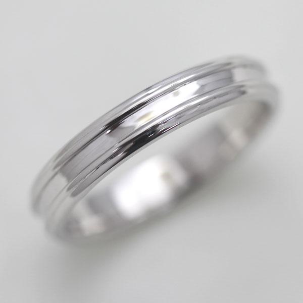 【SALE★30%以上OFF!】 【ポイント優待】 結婚指輪 K18WG シンプルリング マリッジリング メンズリング サンキュークーポン