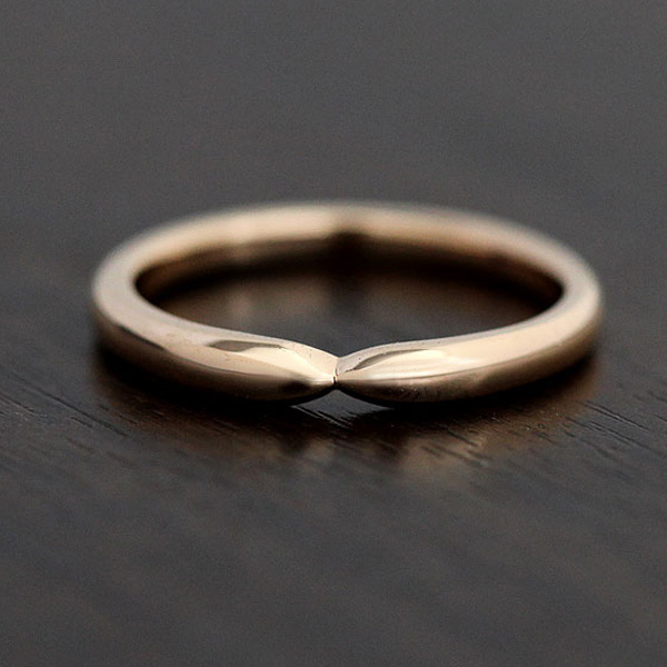 【SALE★30%以上OFF!】 【ポイント優待】 結婚指輪 K10PG シンプルリング マリッジリング ピンクゴールド クロス メンズリング サンキュークーポン