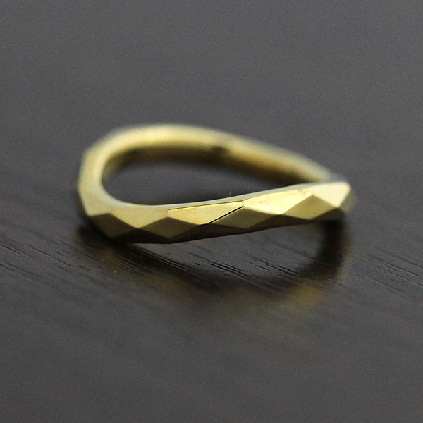 【SALE★30%以上OFF!】 【ポイント優待】 結婚指輪 K10YG ミラーカット イエローゴールド マリッジリング レディースリング サンキュークーポン