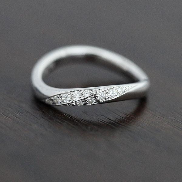 刻印無料 ダイヤモンド0.10カラット 2連ダイヤ S字リング クリスマス ギフト プレゼント ダイヤモンド レディースリング K18WG ホワイトゴールド 2020モデル 賜物 結婚指輪 0.10ct 彼女