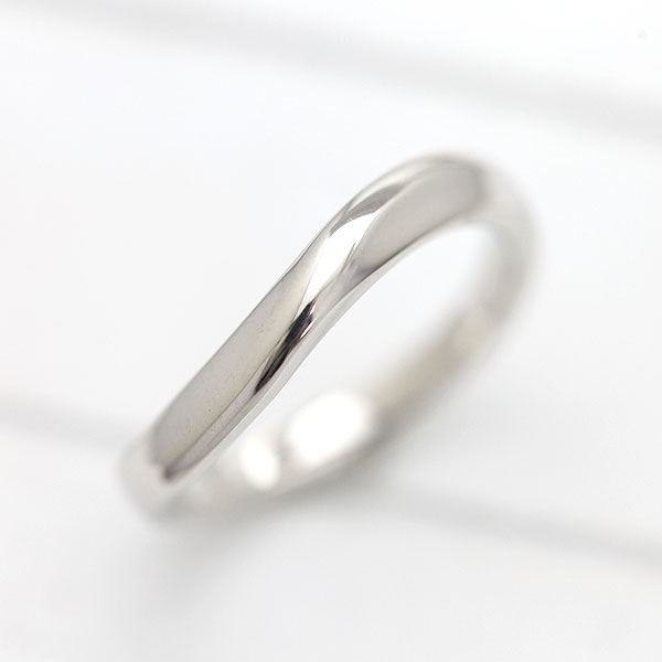 【SALE★30%以上OFF!】 【ポイント優待】 結婚指輪 K18WG シンプル ラインリング マリッジリング ホワイトゴールド メンズリング サンキュークーポン