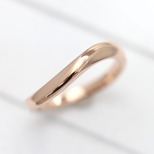 【SALE★30%以上OFF!】 【ポイント優待】 結婚指輪 K10PG シンプル ラインリング マリッジリング ピンクゴールド メンズリング サンキュークーポン