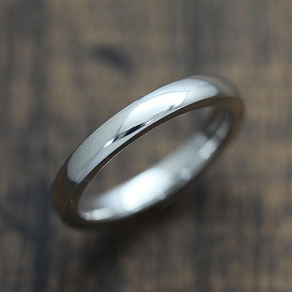 【SALE★30%以上OFF!】 【ポイント優待】 結婚指輪 K18WG シンプル 甲丸リング マリッジリング ホワイトゴールド メンズリング サンキュークーポン