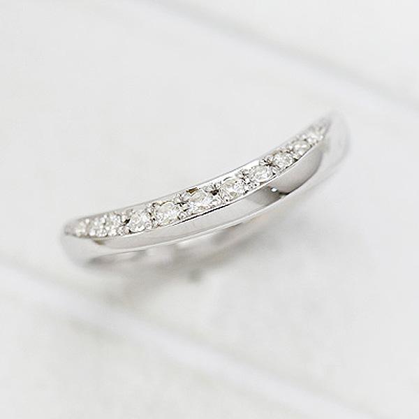 結婚指輪 リング プラチナ PT900(Pt90%) ダイヤモンド 0.14ct マリッジリング レディースリング サンキュークーポン