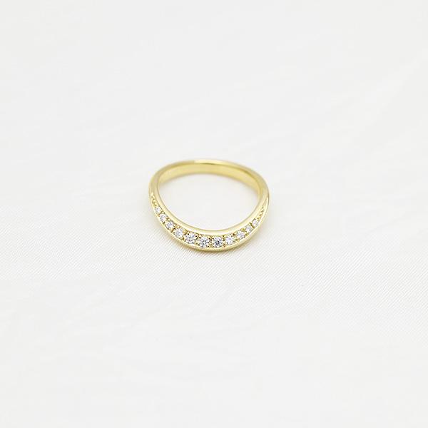 結婚指輪 K10YG ダイヤモンド 0 14ct イエローゴールド マリッジリング レディースリングサンキュークーポン7vmYb6gIfy