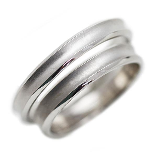 結婚指輪 プラチナ PT100(Pt10%) シンプル つや消し ペアリング マリッジリング