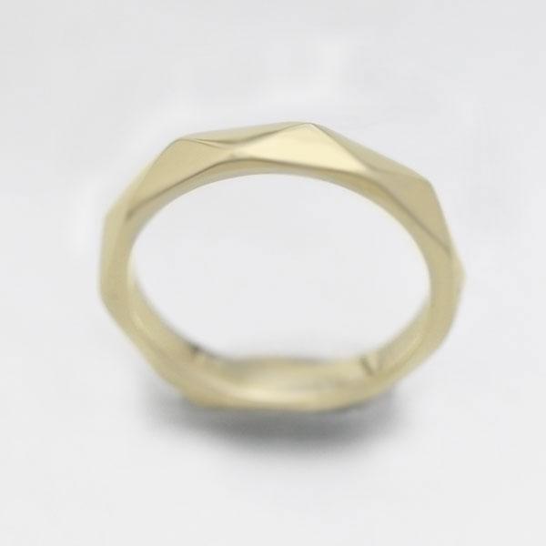【SALE★30%以上OFF!】 【ポイント優待】 結婚指輪 K10YG イエローゴールド マリッジリングミラーカット メンズリング ギフト プレゼント 彼氏 男性
