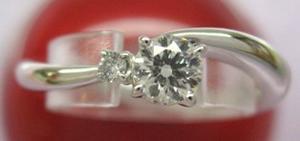 ラザールダイヤモンド プラチナダイアモンドリングエンゲージリング(婚約指輪)【楽ギフ_のし】【smtb-KD】