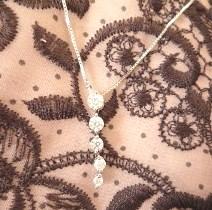 ラザールダイヤモンドプラチナダイアモンドプチネックレス(スライド式ネックレス)【楽ギフ_のし】【smtb-KD】