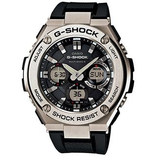 カシオ G-SHOCK GST-W110-1AJF「Gスチール」【楽ギフ_のし】【smtb-KD】