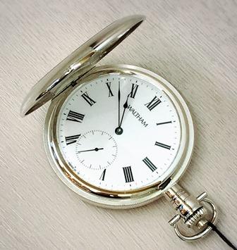 WALTHAM懐中時計 銀無垢(SILV)WS29【_のし】【smtb-KD】