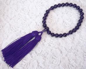 ◆送料無料◆◆即納◆数珠・アメジスト片手念珠【楽ギフ_のし】【smtb-KD】