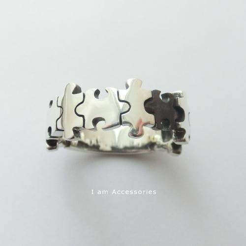 受注生産商品 パズルデザインリング 格安激安 激安通販専門店 シルバー925 指輪 メール便可