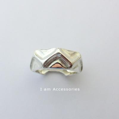 デザインリング シルバー925 リングサイズ16号【オリジナル】【指輪】【刻印】【i am accessories】