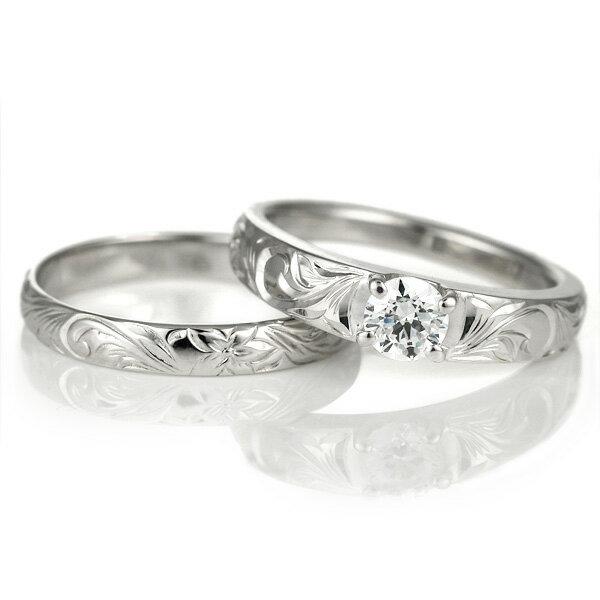 ハワイアンジュエリー 婚約指輪 キュービックジルコニア リング 指輪 シルバー シンプル 人気【DEAL】 末広 スーパーSALE