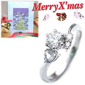 クリスマス限定Xmasカード付CanCam掲載( 婚約指輪 ) ダイヤモンド プラチナエンゲージリング( 6月誕生石 ) ムーンストーン