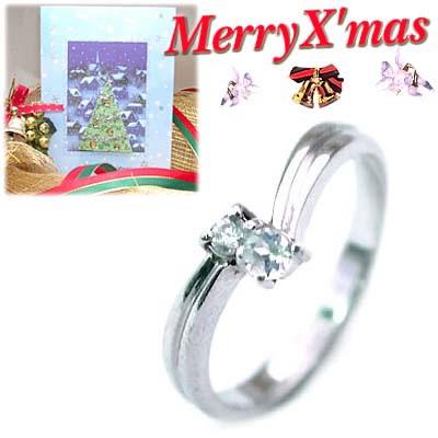 クリスマス限定Xmasカード付( 6月誕生石 ) K18ホワイトゴールド ムーンストーンリング【DEAL】