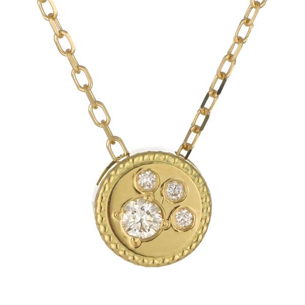 ペンダント K18イエローゴールド 18金 K18 18k ダイヤモンド 猫 肉球 人気 おすすめ レディース 女性【DEAL】