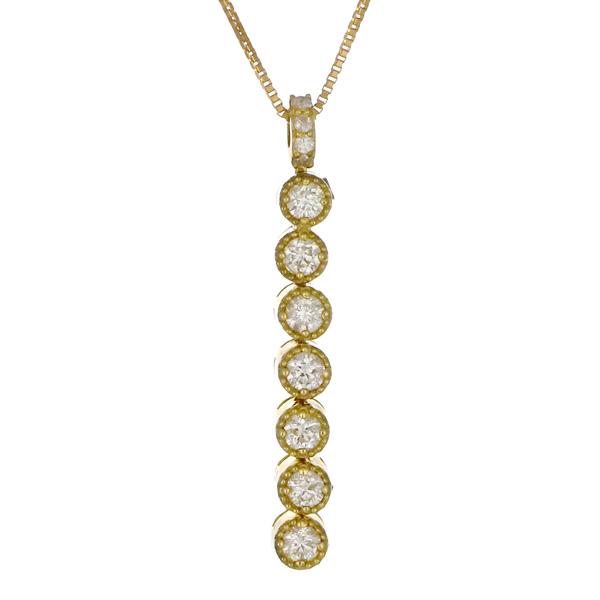 ペンダント K18イエローゴールド 18金 K18 18k ダイヤモンド 磁石 3way 人気 おすすめ レディース 女性