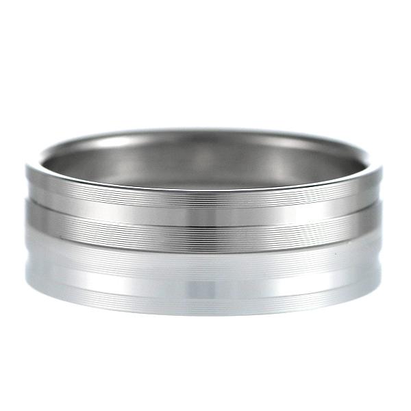 結婚指輪 マリッジリング ペアリング つや消し ストレート 平打 パラジウム 末広 スーパーSALE