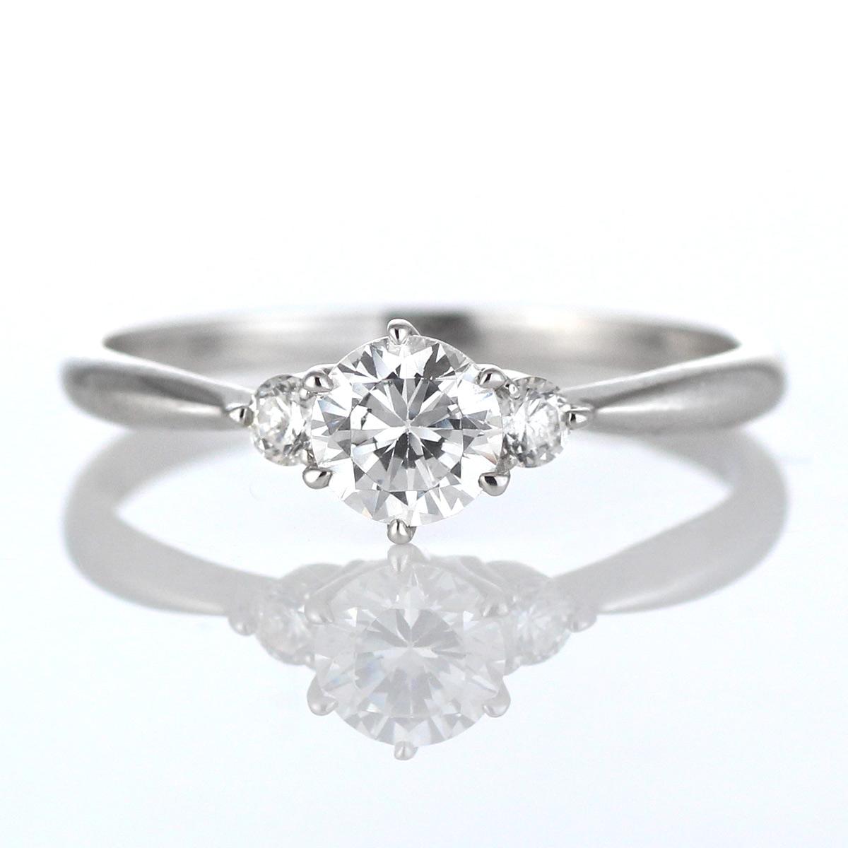 약혼 반지 약혼 반지 다이아몬드 플래티넘 반지 솔리테어 곡