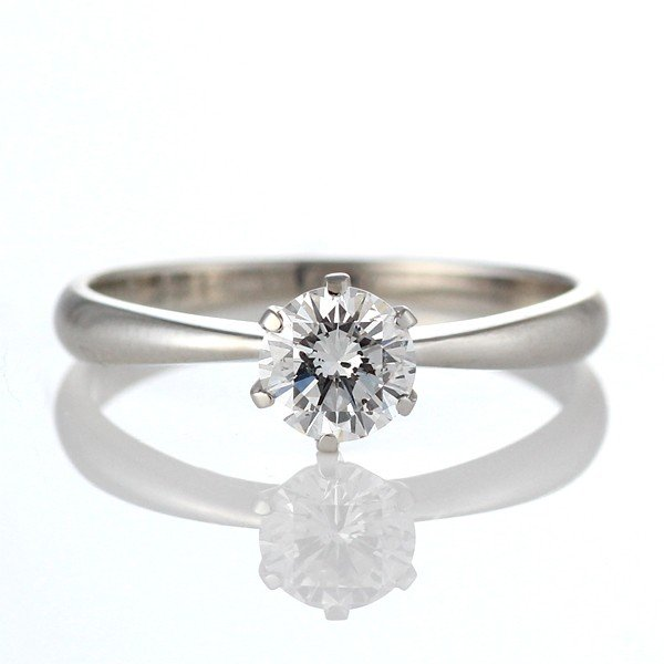 婚約指輪 エンゲージリング ダイヤモンド ダイヤ K18WG リング【DEAL】