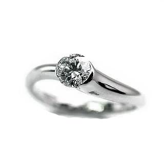 指輪 リング 指輪 レディース ダイヤモンド指輪 ダイヤモンド 一粒 ホワイトゴールド
