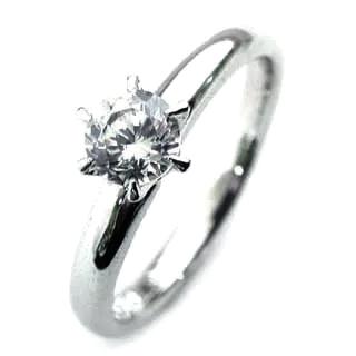 立爪 エンゲージリング ダイヤモンド ダイヤ プラチナ リング 婚約指輪 0.35ct【DEAL】 末広 スーパーSALE【今だけ代引手数料無料】